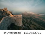 the ancient castle of snake ...   Shutterstock . vector #1110782732