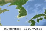 south korea and its... | Shutterstock . vector #1110792698