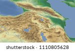 armenia and its neighborhood.... | Shutterstock . vector #1110805628