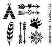 tribal design elements  sun ...