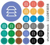 multiple layers multi colored... | Shutterstock .eps vector #1110893858