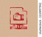 tif file format icon in...