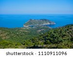 beautiful coast in the north of ... | Shutterstock . vector #1110911096