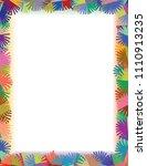 marker lines based  freehand... | Shutterstock .eps vector #1110913235