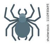 eight leged spider | Shutterstock .eps vector #1110930695