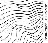 hand drawn line art wavy...   Shutterstock .eps vector #1110935885