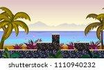 horizontal jump game background ...