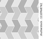 mosaic. zigzag figures ornament.... | Shutterstock .eps vector #1110968762