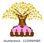 vector illustration symbol of... | Shutterstock .eps vector #1110969485