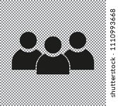 vector icon group of people   Shutterstock .eps vector #1110993668