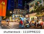 ho chi minh  vietnam   april 27 ... | Shutterstock . vector #1110998222