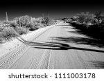 dirt road sonora desert in... | Shutterstock . vector #1111003178