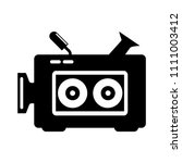 vector video camera... | Shutterstock .eps vector #1111003412