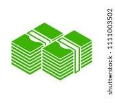 vector money icon. dollar money ... | Shutterstock .eps vector #1111003502