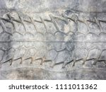 tire wheel pattern | Shutterstock . vector #1111011362