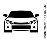 Stock vector car icon 111102332
