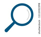 magnifying glass   search icon  ... | Shutterstock .eps vector #1111032398