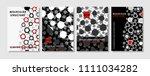 modern vector template for... | Shutterstock .eps vector #1111034282