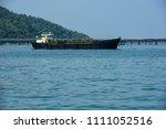 oil tanker  gas tanker in the... | Shutterstock . vector #1111052516