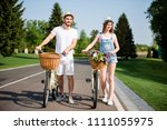 full size body portrait of... | Shutterstock . vector #1111055975