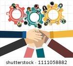 flat design illustration...   Shutterstock .eps vector #1111058882