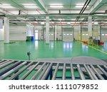 loading dock interior in new... | Shutterstock . vector #1111079852