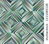 geometric abstract symmetric... | Shutterstock .eps vector #1111085138