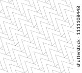 seamless pattern. monochrome... | Shutterstock .eps vector #1111108448