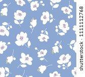 flower illustration pattern  i...   Shutterstock .eps vector #1111112768