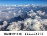 Himalaya Mountains Under Cloud...