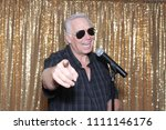 a man sings a song. a man sings ...   Shutterstock . vector #1111146176