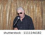 a man sings a song. a man sings ...   Shutterstock . vector #1111146182
