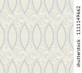 seamless damask wallpaper in... | Shutterstock .eps vector #1111149662