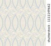 seamless damask wallpaper in... | Shutterstock .eps vector #1111149662