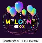 vector creative illustration of ... | Shutterstock .eps vector #1111150502