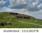 bank top. north yorkshire moors.... | Shutterstock . vector #1111181978