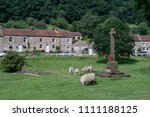 hutton le hole. north yorkshire.... | Shutterstock . vector #1111188125