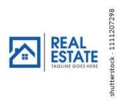 Stock vector real estate and home logo vector 1111207298