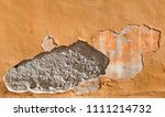 an old painted wall. background | Shutterstock . vector #1111214732