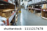 large warehouse logistic and... | Shutterstock . vector #1111217678
