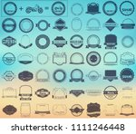 make your labels or logotypes... | Shutterstock . vector #1111246448