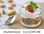 tasty natural and healthy... | Shutterstock . vector #1111249148