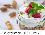 tasty natural and healthy... | Shutterstock . vector #1111249172