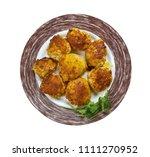 tunde ke kabab as buffalo meat... | Shutterstock . vector #1111270952
