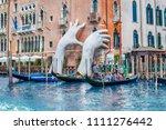 venice  italy   april 29  the... | Shutterstock . vector #1111276442
