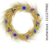 illustration of wheat ear... | Shutterstock .eps vector #1111279082