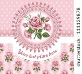 Pink Romantic Floral Background ...