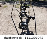 Tire Horse Swing Set