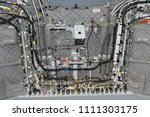 hydraulic lines  cableforms and ... | Shutterstock . vector #1111303175