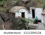 dwelling in the paul valley.... | Shutterstock . vector #1111304126